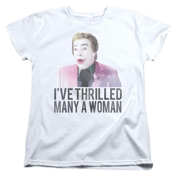 Batman Classic Tv Thrilled Short Sleeve Womens Tee T-Shirt