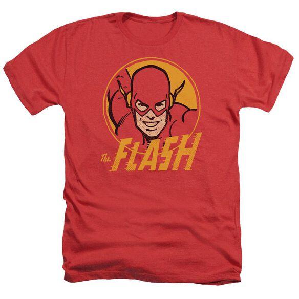 Dc Flash Flash Circle Adult Heather