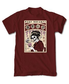 Riot Society - Geisha Flower Garden T-Shirt