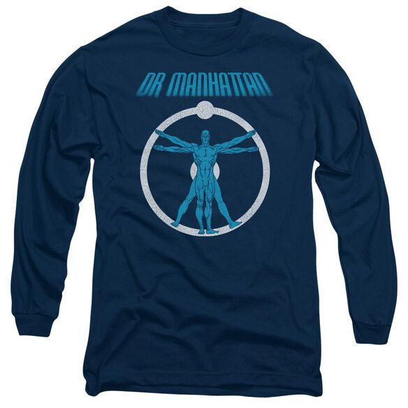 Watchmen Anatomy Long Sleeve Adult T-Shirt
