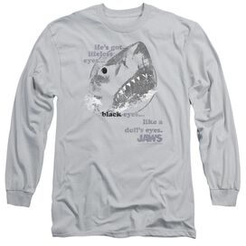 Jaws Like Dolls Eyes Long Sleeve Adult T-Shirt
