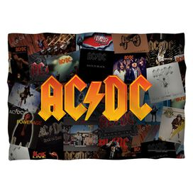 Acdc Albums (Front Back Print) Pillow Case