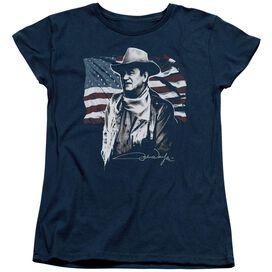 John Wayne American Idol Short Sleeve Womens Tee T-Shirt