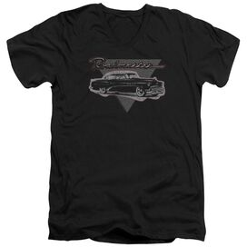 Buick 1952 Roadmaster Short Sleeve Adult V Neck T-Shirt