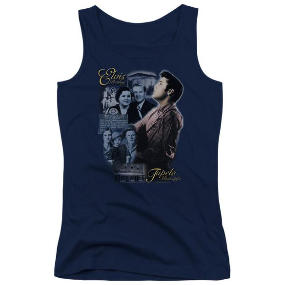 Elvis Presley Tupelo Juniors Tank Top