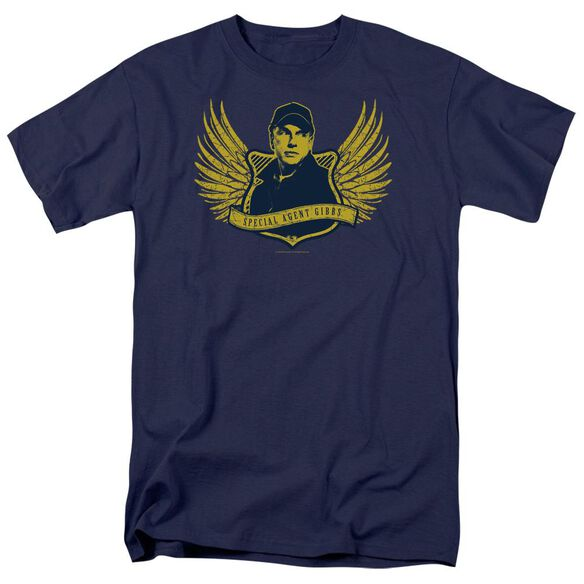 Ncis Go Navy Short Sleeve Adult Navy T-Shirt