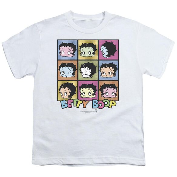 Betty Boop She's Got The Look Short Sleeve Youth T-Shirt