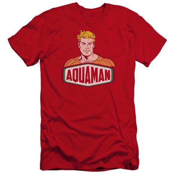 Dco Aquaman Sign Premuim Canvas Adult Slim Fit