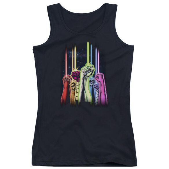 Green Lantern Rainbow Corps Juniors Tank Top