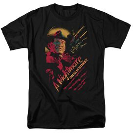 Nightmare On Elm Street Freddy Claws Short Sleeve Adult T-Shirt