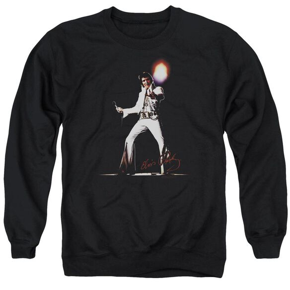 Elvis Glorious Adult Crewneck Sweatshirt