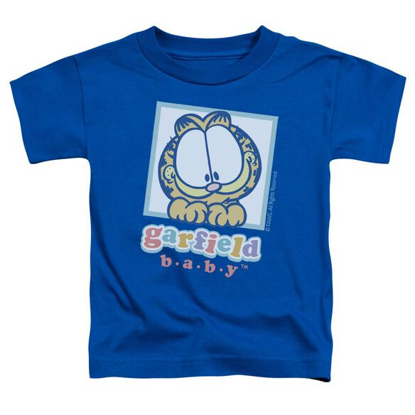 Garfield Baby Garfield Short Sleeve Toddler Tee Royal Blue Lg T-Shirt