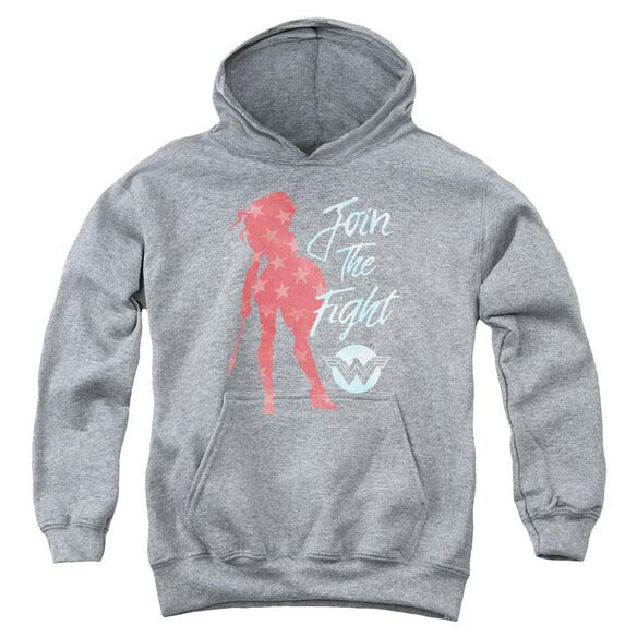 Wonder Woman Movie Freedom Fight Youth Pull Over Hoodie Athletic