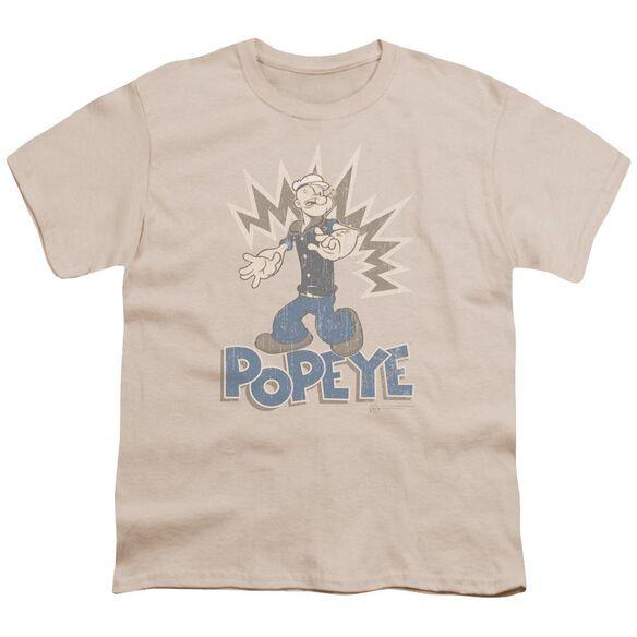 Popeye Sailor Man Short Sleeve Youth T-Shirt