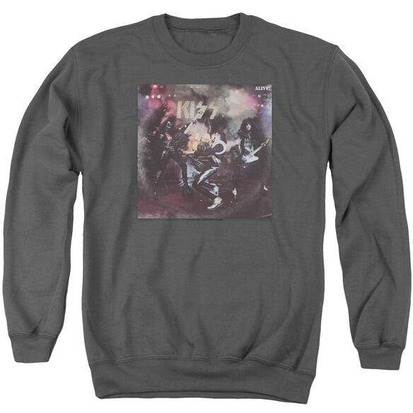 Kiss Alive! Adult Crewneck Sweatshirt