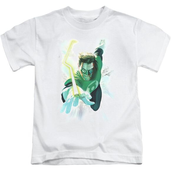 Green Lantern Clouds Short Sleeve Juvenile T-Shirt