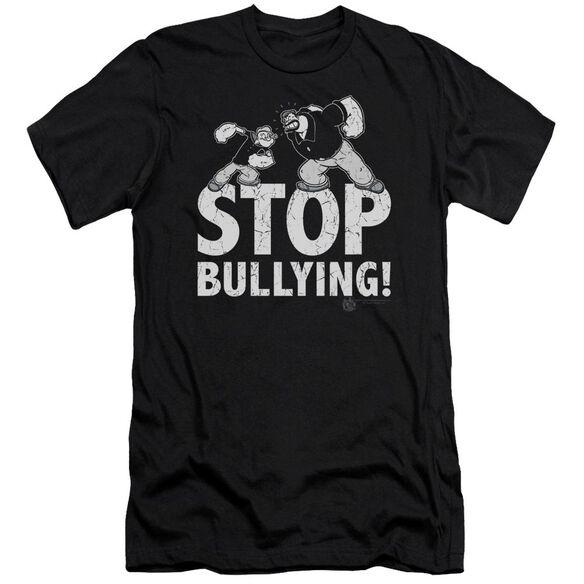 Popeye Stop Bullying-premuim Canvas Adult Slim