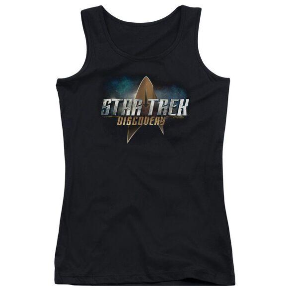 Star Trek Discovery Discovery Logo Juniors Tank Top