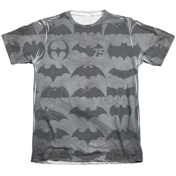 Batman 75 Symbols Adult Poly Cotton Short Sleeve Tee T-Shirt