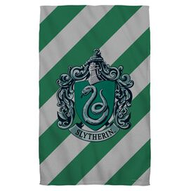 Harry Potter Slytherin Crest Towel White