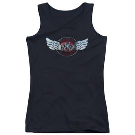 Reo Speedwagon Rendered Logo Juniors Tank Top