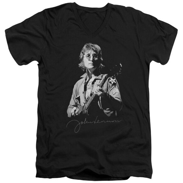 John Lennon Iconic Short Sleeve Adult V Neck T-Shirt