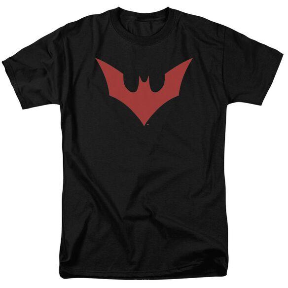 Batman Beyond Beyond Bat Logo Short Sleeve Adult T-Shirt