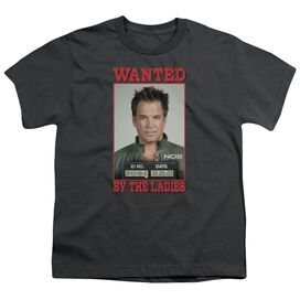 Ncis Wanted Short Sleeve Youth T-Shirt