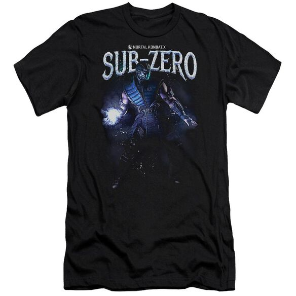 Mortal Kombat Sub Zero Hbo Short Sleeve Adult T-Shirt