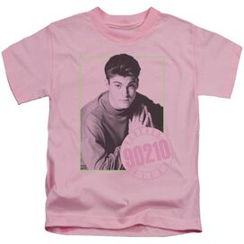 90210 David Short Sleeve Juvenile Pink T-Shirt