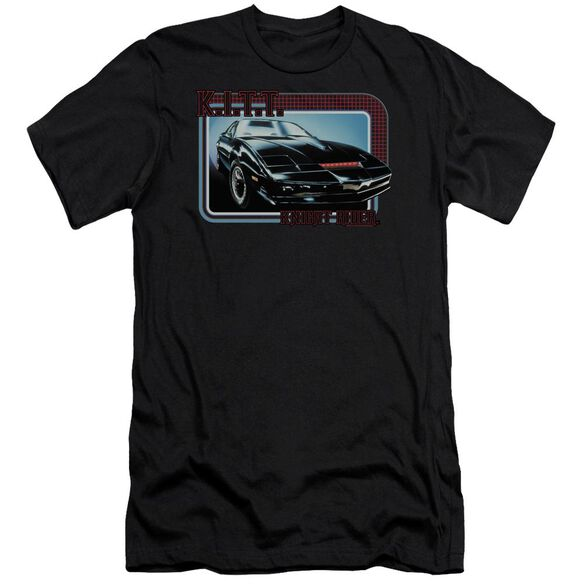 Knight Rider Kitt Premuim Canvas Adult Slim Fit