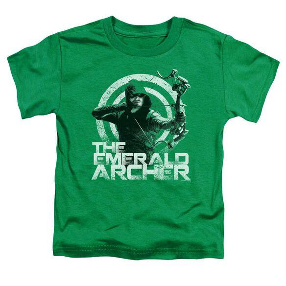 Arrow Archer Short Sleeve Toddler Tee Kelly Green T-Shirt