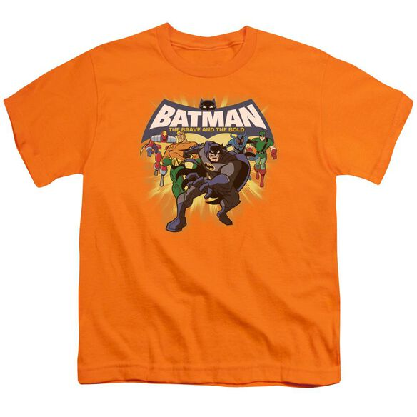 Batman Bb A Bold Force Short Sleeve Youth T-Shirt