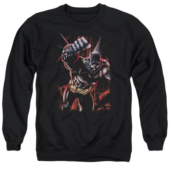Batman Crimson Knight Adult Crewneck Sweatshirt