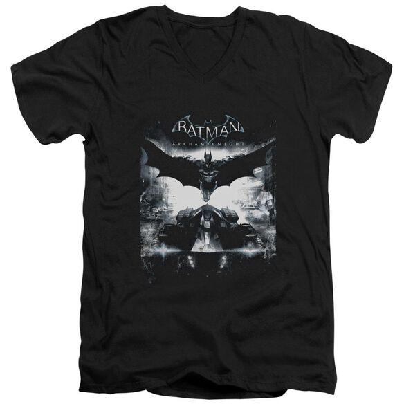 Batman Arkham Knight Forward Force Short Sleeve Adult V Neck T-Shirt