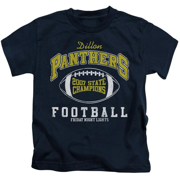 Friday Night Lights State Champs Short Sleeve Juvenile Navy Md T-Shirt