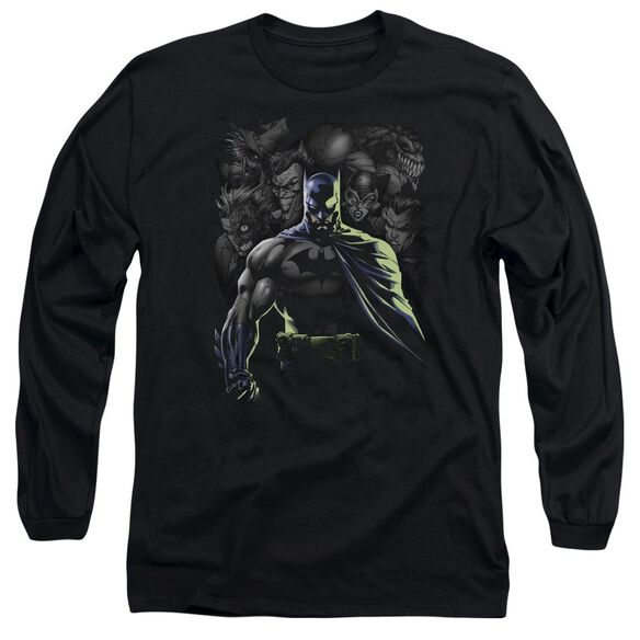 Batman Villains Unleashed Long Sleeve Adult T-Shirt