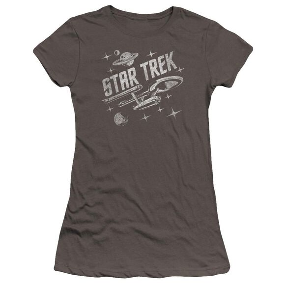 Star Trek Through Space Premium Bella Junior Sheer Jersey