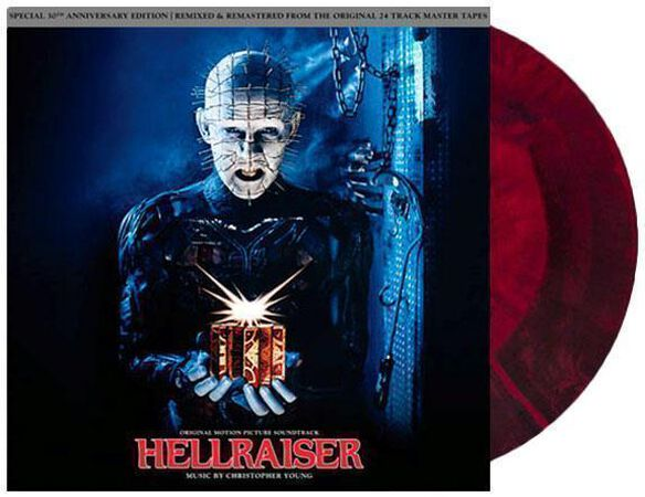 Christopher Young - Hellraiser Soundtrack [30th Anniversary][Exclusive Red and Black Starburst Vinyl]