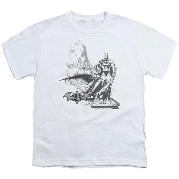 Batman Overseer Short Sleeve Youth T-Shirt