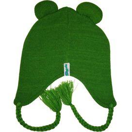 Muppets Kermit Felt Mouth Lapland Beanie
