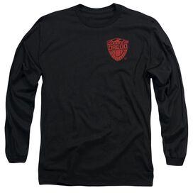 Judge Dredd Badge Long Sleeve Adult T-Shirt
