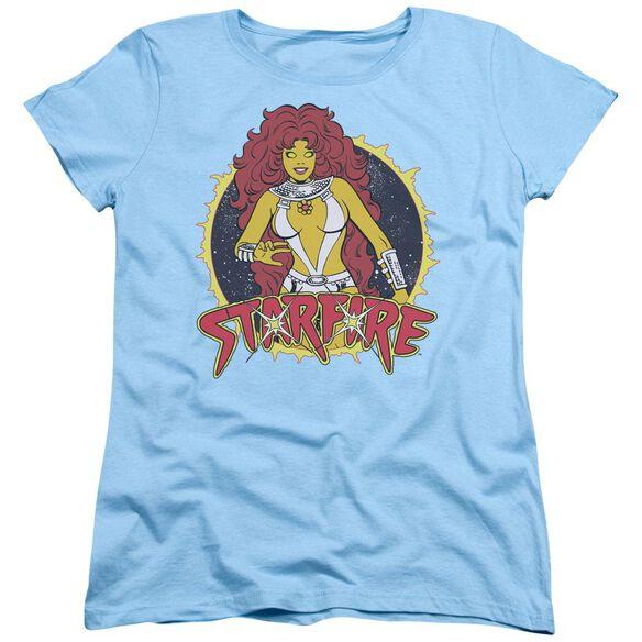 Dc Starfire Short Sleeve Womens Tee Light T-Shirt