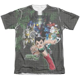 Astro Boy Group Adult Poly Cotton Short Sleeve Tee T-Shirt