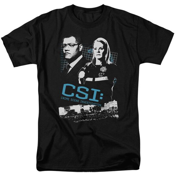 Csi Investigate This Short Sleeve Adult T-Shirt