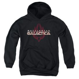 Bsg Logo With Phoenix-youth Pull-over Hoodie