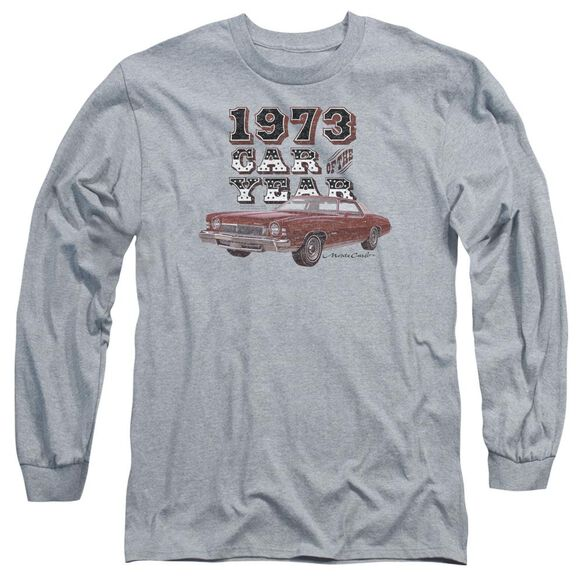 Chevrolet Car Of The Year Long Sleeve Adult Athletic T-Shirt