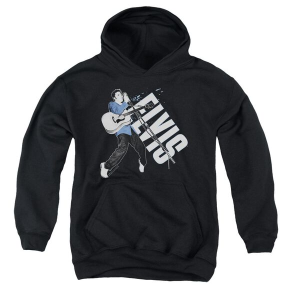 Elvis Presley On His Toes Youth Pull Over Hoodie