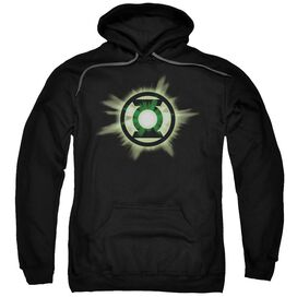 Green Lantern Green Glow Adult Pull Over Hoodie