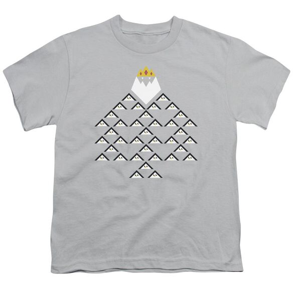 Adventure Time Ice King Triangle Short Sleeve Youth T-Shirt